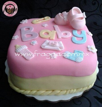 Elegant Pasteles Para Baby Shower, Es Niño O Niña?   Fragga Pasteleria De Diseño